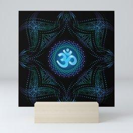 shanti om Mini Art Print