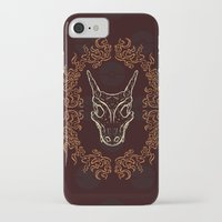 charizard iPhone & iPod Cases featuring Charizard Skull by Kayla Catherine Illustration