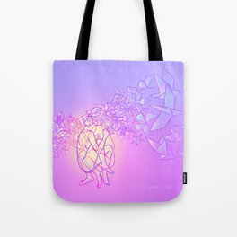 Hollowlove Origami Heart Tote Bag