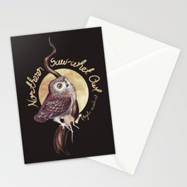 Northern Saw-whet Owl Stationery Cards