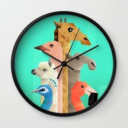Long necks Wall Clock