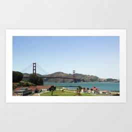 Golden Gate Park Art Print