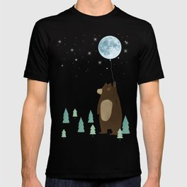 the moon balloon T-shirt