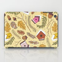 70s iPad Cases featuring 70s Woodland by Aron Gelineau