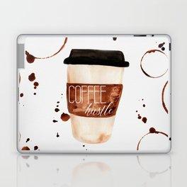 Coffee and Hustle on the Go Laptop & iPad Skin