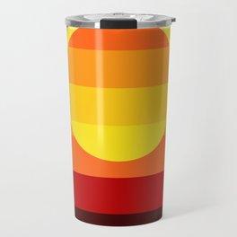 Sunset Stripe Travel Mug