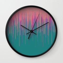 """Acid Rain"" Wall Clock"