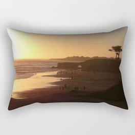 Santa Cruz Beach Rectangular Pillow