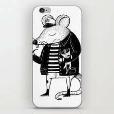 Rat Ship iPhone & iPod Skin
