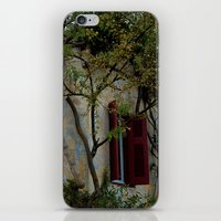 greek iPhone & iPod Skins featuring Greek Cottage by Upperleft Studios