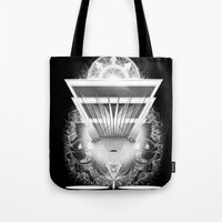guardians Tote Bags featuring Guardians by 5th Aeon