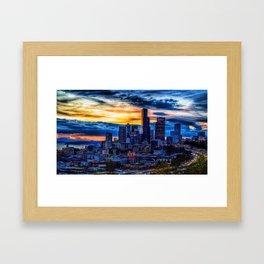 Fantastic night Framed Art Print