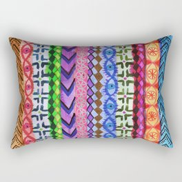 Peru Stripe II Rectangular Pillow
