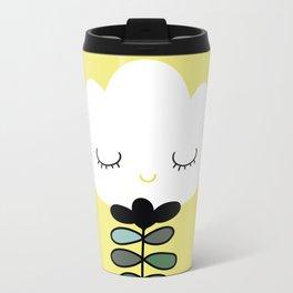 simply flower Metal Travel Mug