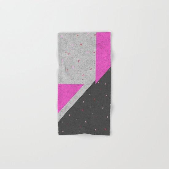 Geometric Shapes Pattern Hand & Bath Towel