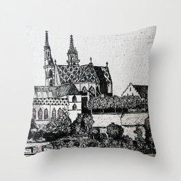 The Munster Throw Pillow