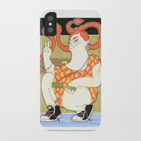 hip hop iPhone & iPod Cases featuring Pippilotta - swedish hip hop  by Elin Lucassi