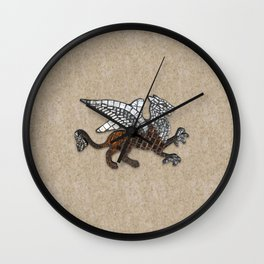 Mosaic Griffin Wall Clock