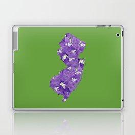 New Jersey in Flowers Laptop & iPad Skin