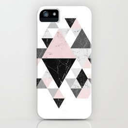 Abstract Geometri iPhone Case