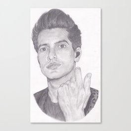 brendon urie (without background) Canvas Print