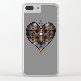 Foundation: Do What You Love Clear iPhone Case