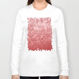 Pig Pile-Up! (splash-0-color edition) Long Sleeve T-shirt