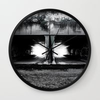 melbourne Wall Clocks featuring Melbourne Tunnels by Paul Vayanos