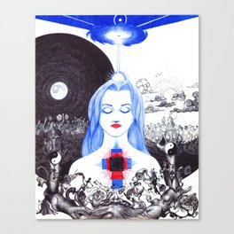 Illusive Duality Canvas Print