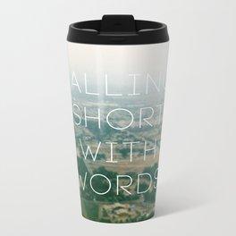 Falling Short Metal Travel Mug
