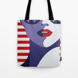 American Stewardess Tote Bag