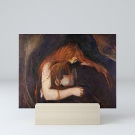 Vampire by Edvard Munch Mini Art Print