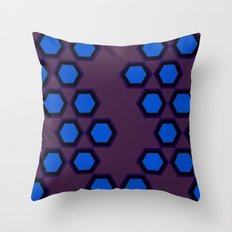 Moroccan Style Orange. Throw Pillow
