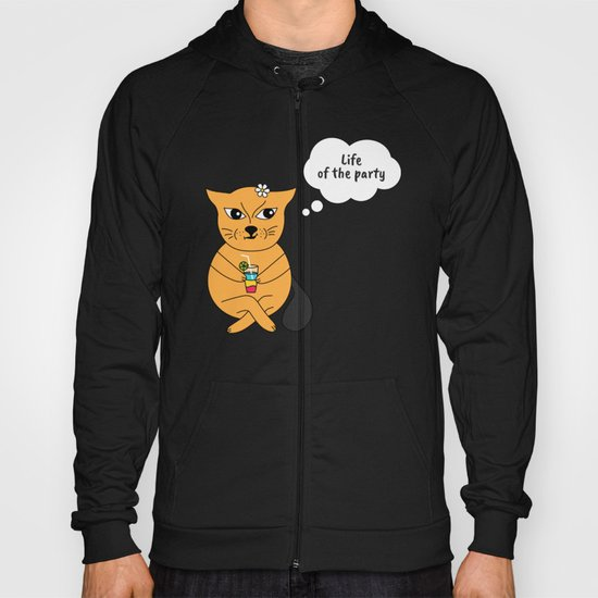 Beatrice. The cat that thinks... Party Hoody