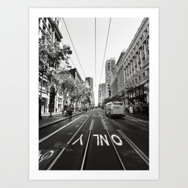ONLY San Francisco Art Print