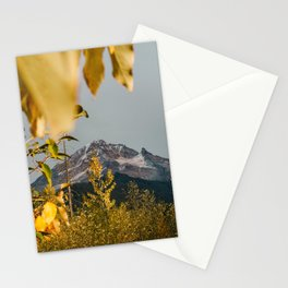 Mt. Hood Through The Leaves Stationery Cards
