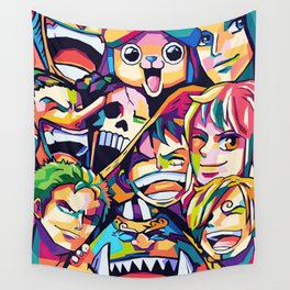 The King Of Pirates One Piece Wall Tapestry