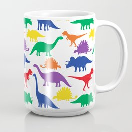 Dinosaurs - White Coffee Mug