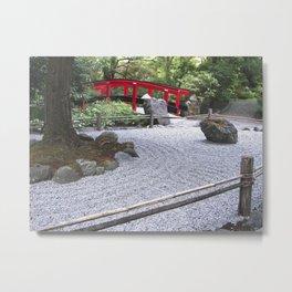 Japanese Garden Metal Print