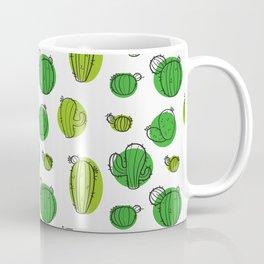 Green Cactus pattern Coffee Mug