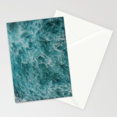 faded waves Stationery Cards