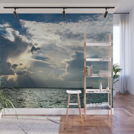 Coconut Grove Sailing Day Wall Mural