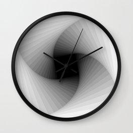 Square spiral - Bright Wall Clock