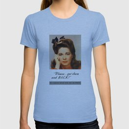 Get There And Back -- WWII Poster T-shirt
