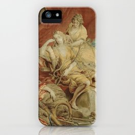 Resting Diana, from the Triumph of the Gods iPhone Case