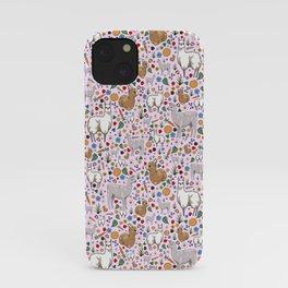 Pretty Llamas iPhone Case