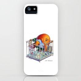 Imp Peach iPhone Case