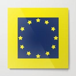 The European   Union 2 Metal Print