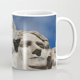 George Washington And Thomas Jefferson  - Mount Rushmore Coffee Mug