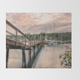 Bainbridge Harbor Throw Blanket